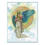 Postal del ángel de la Santa Lucía