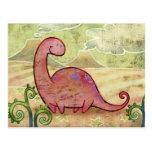 Postal del Apatosaurus