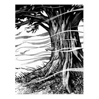Postal del árbol