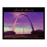 Postal del arco del Saint Louis