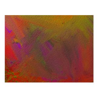Postal del arte abstracto