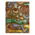 Postal del arte de Guatemala