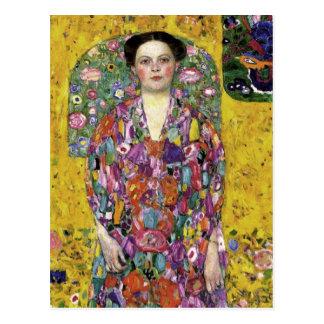 Postal del arte de Gustavo Klimt
