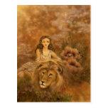 Postal del arte de la fantasía - Circe