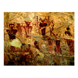 Postal del arte de la roca de Utah