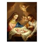 """Postal del arte de Natividad del La"" Postales"