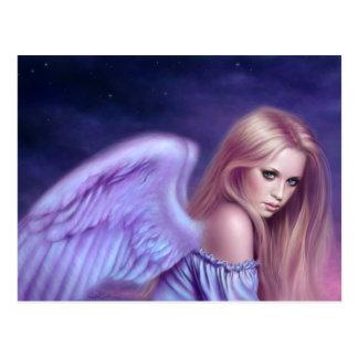 Postal del arte del ángel de Seraphina