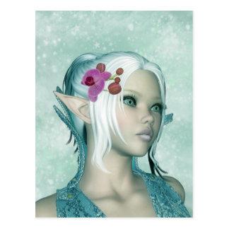 Postal del arte del duende de la fantasía - prince