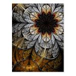 Postal del arte del fractal: Flor II
