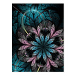 Postal del arte del fractal: Flor III