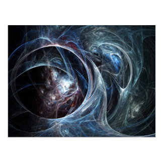 Postal del arte del fractal: La cueva de la araña