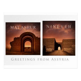 Postal del Assyria