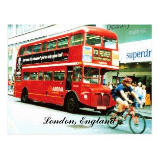 Postal del autobús de Londres