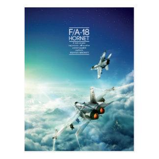 Postal del avispón de McDonnell Douglas F/A-18