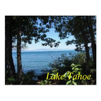 Postal del azul de Tahoe