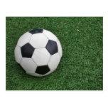 Postal del balón de fútbol H