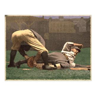 Postal del béisbol del vintage