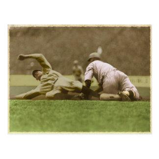 Postal del béisbol del vintage a partir de 1923