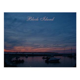 Postal del Block Island