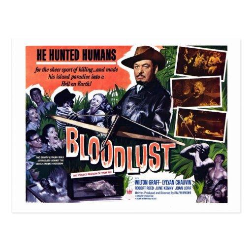 """Postal del """"Bloodlust"""""""