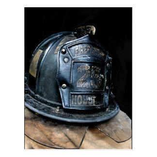 Postal del bombero de Houston