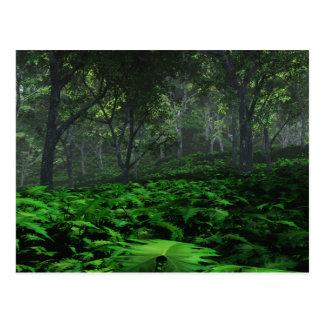 Postal del bosque que prevalece