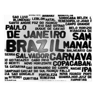 Postal del BRASIL