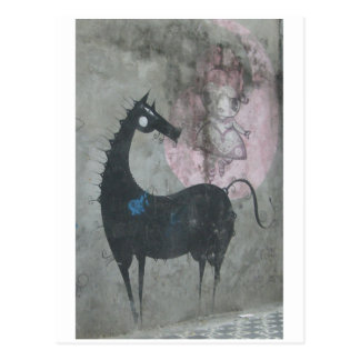 Postal del caballo de la pintada