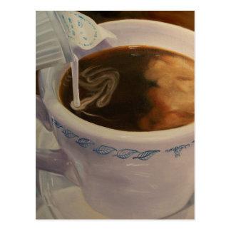 Postal del café