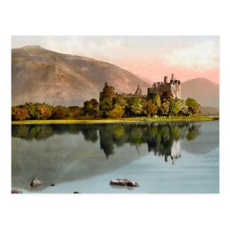 Postal del calendario de Escocia 2015 del castillo