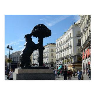 Postal del calendario de Madrid 2014