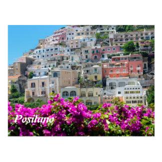 Postal del calendario de Positano 2014