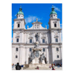 Postal del calendario de Salzburg, Austria 2014