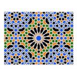 Postal del calendario del modelo 2013 del Moorish