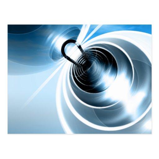 Postal del campo magnético