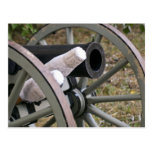 Postal del cañón de la era de la guerra civil