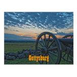 Postal del cañón II de Gettysburg