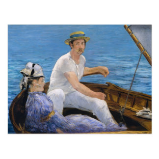 Postal del canotaje de Manet