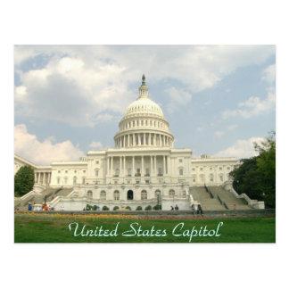 Postal del capitolio de Estados Unidos
