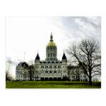 Postal del Capitolio del estado de Connecticut