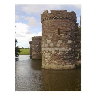 Postal del castillo de Beaumaris