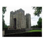 Postal del castillo de Bunratty