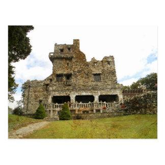 Postal del castillo de Guillermo Gillette
