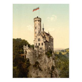 Postal del castillo de Lichtenstein