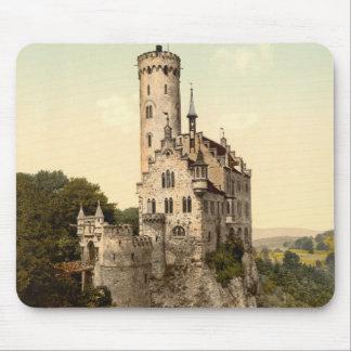 Postal del castillo de Lichtenstein Mouse Pads