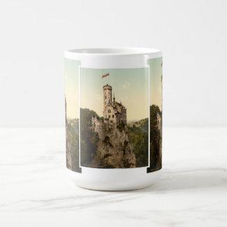 Postal del castillo de Lichtenstein Taza Clásica