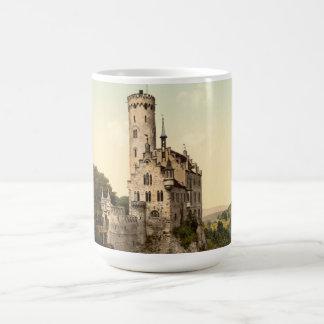 Postal del castillo de Lichtenstein Taza De Café