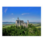 Postal del castillo de Neuschwanstein