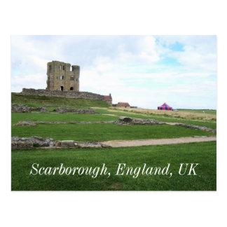 Postal del castillo de Scarborough
