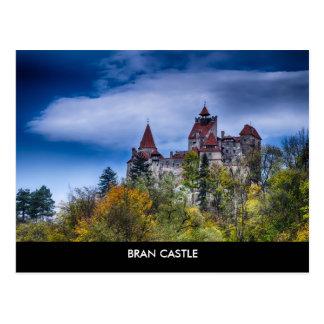 Postal del castillo del salvado